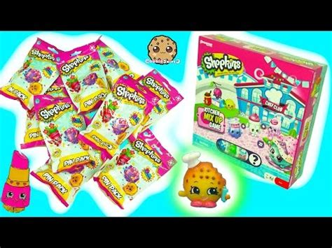 Shopkins Season 6 Chef Club Emco Littlest Pet Shop Hasbro shopkins episodes collection cookie swirl c shopkins for