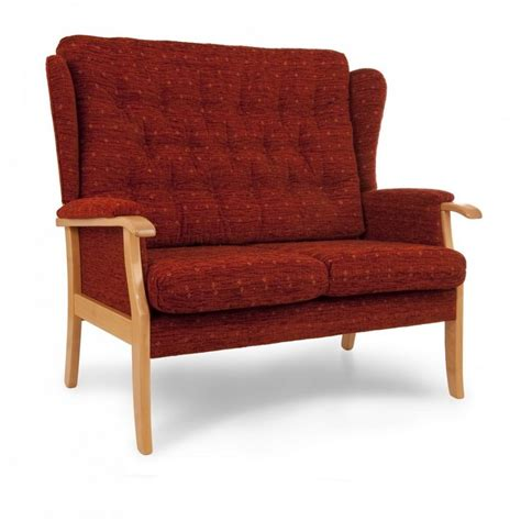 easy chair and sofa company chelmer high back wing sofa easy chair company bishop s