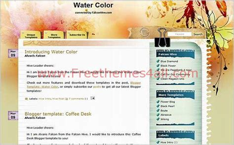 blogger themes colorful grunge colorful floral blogger theme template