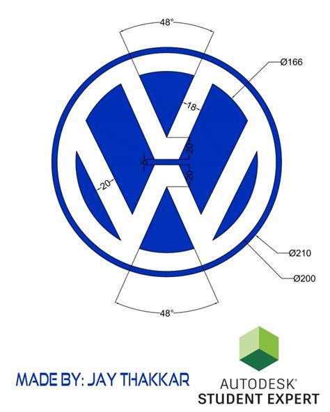 tutorial logo volkswagen logo volkswagen 2d