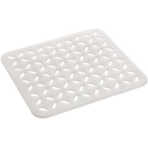 kitchen sink mat white in sink mats