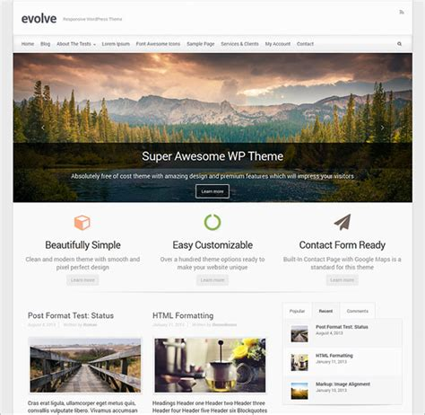 wordpresss templates top 10 best free responsive premium themes for 2015