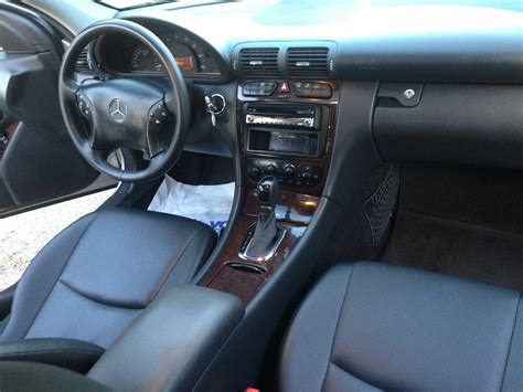 2003 mercedes c240 interior images