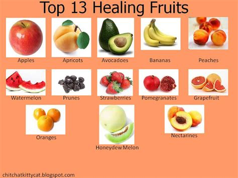 fruit n fibre calories chit chat with cat top 13 healing fruits
