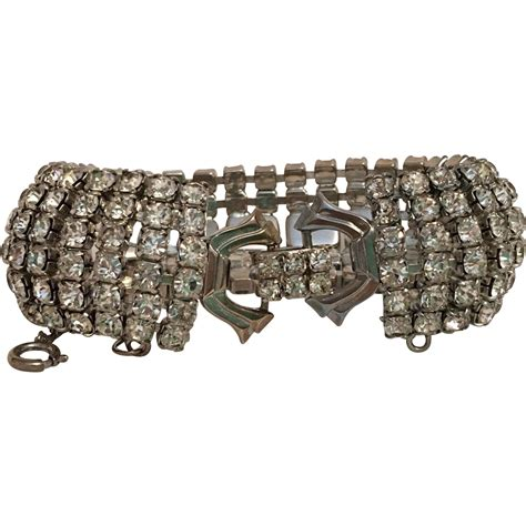 Rhinestone Bracelet rhinestone bracelet vintage