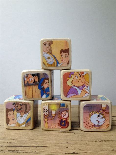 Alilah Set and the beast childrens book blocks