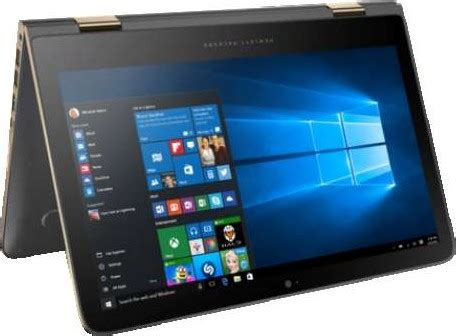 hp spectre x360 13.3 inch qhd display convertible laptop