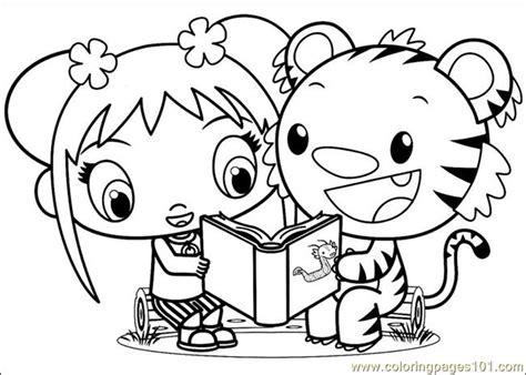 free coloring pages of ni hao kai lan co