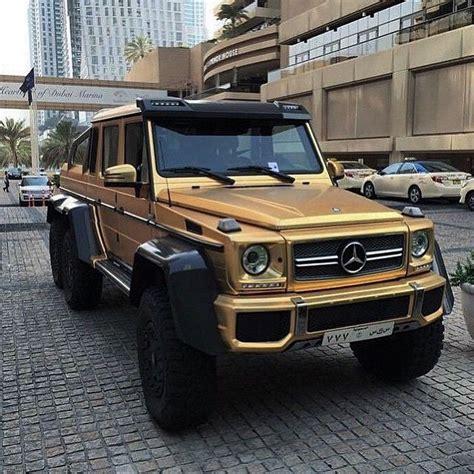 mercedes jeep gold matte gold mercedes 6x6 g63 amg 169 lukas brenner