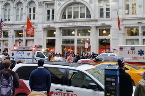 two dead after shooting at manhattan home depot