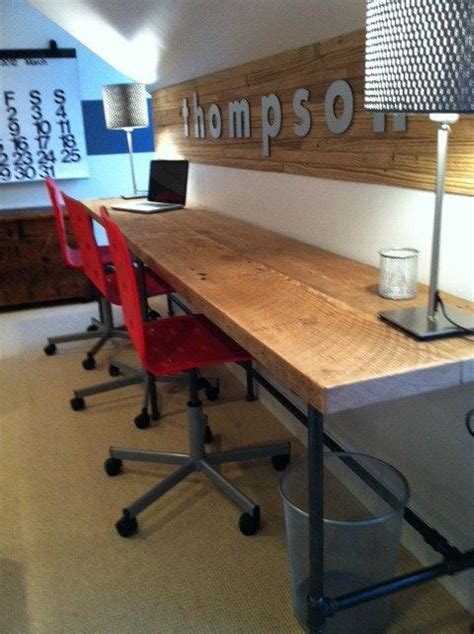 80 best reclaimed wood style images on home reclaimed wood and pipe industry work station desk