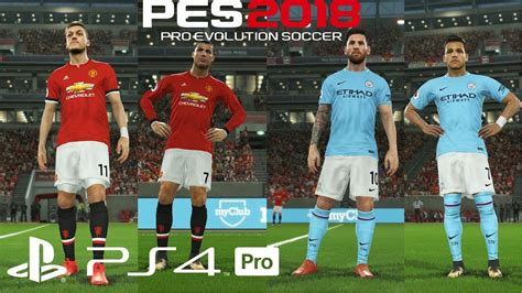 alexis sanchez pes 2018 pes 2018 ps4 pro what if messi alexis joined man city