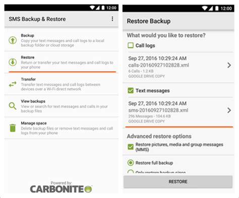 how to transfer sms and text messages from iphone to android