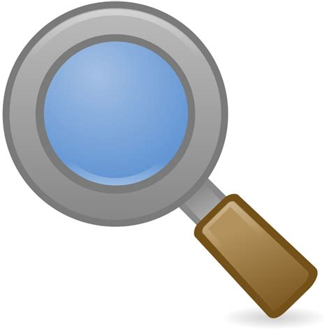 free clipart search search magnifying glass icon cliparts co