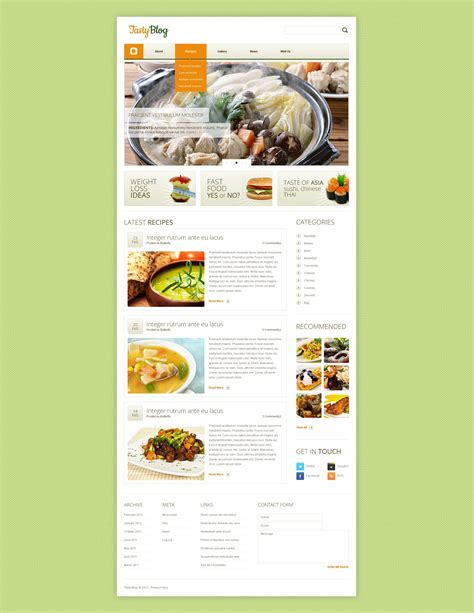 drupal themes engines cooking drupal template 38186