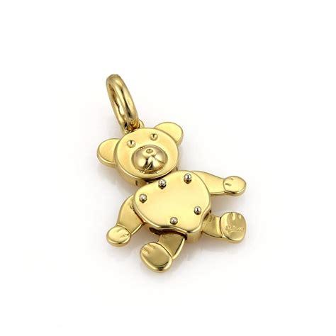 pomellato charms pomellato gold 19047 animated 18k yellow pendant