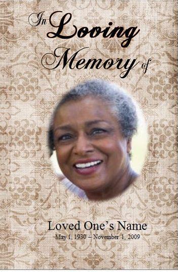 Free Obituary Card Template by Single Fold Printable Obituary Template For Microsoft Word