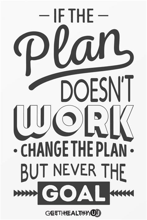Doesn T An Mba by If The Plan Doesn T Work Change The Plan But Never The