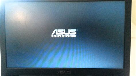 Mengatasi Laptop Asus Black Screen my asus is just in boot screen help