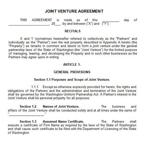 joint venture agreement  business mentor