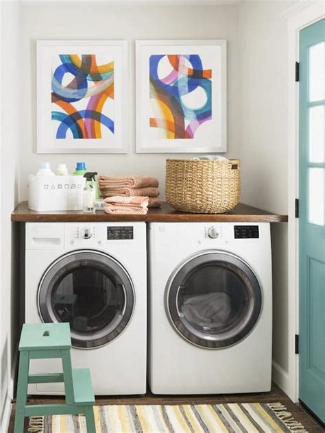 Laundry Room Countertop Washer Dryer by Countertop Above Washer Dryer Transitional Laundry