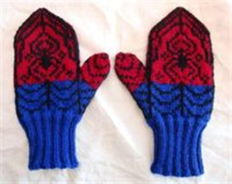 spiderman glove pattern free knitting pattern for spiderman hat very simple free