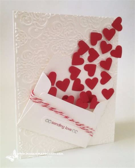 send a valentines card 50 thoughtful handmade valentines cards diy