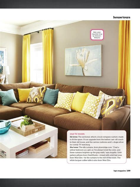 yellow curtains for living room i love the curtain length and color color palette similar