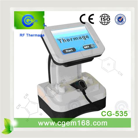 Portable Thermage High Quality Radio Frequency Rf thermage rf machine guangzhou c g technology co