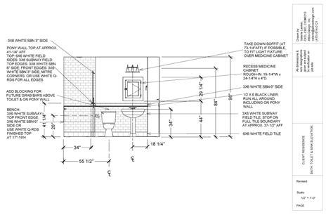 bathroom elevation drawings bathroom elevation drawings 28 images interior design