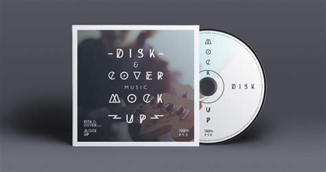 cd cover template psd psd cd cover disk mock up psd mock up templates pixeden