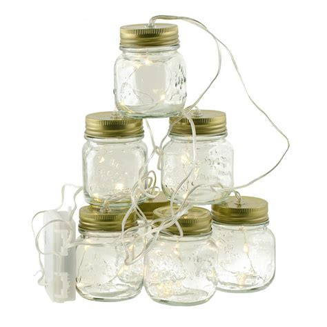 Mini Mason Jar String Lights 7 5 G3625558 Jar String Lights