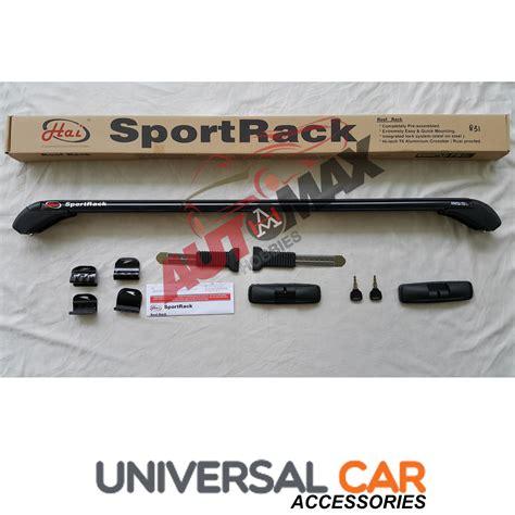 Roof Rail Mobil Universal jual sport rack roof rack rack hai tempat rak barang