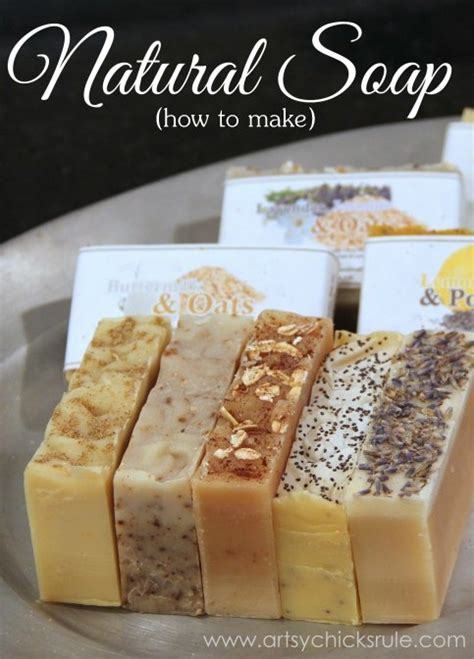 Handmade Organic Soap Recipes - easy soap recipes ftempo