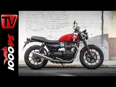 Triumph Motorrad Online Shop österreich by Video Erste Triumph Street Twin 2016 In 214 Sterreich