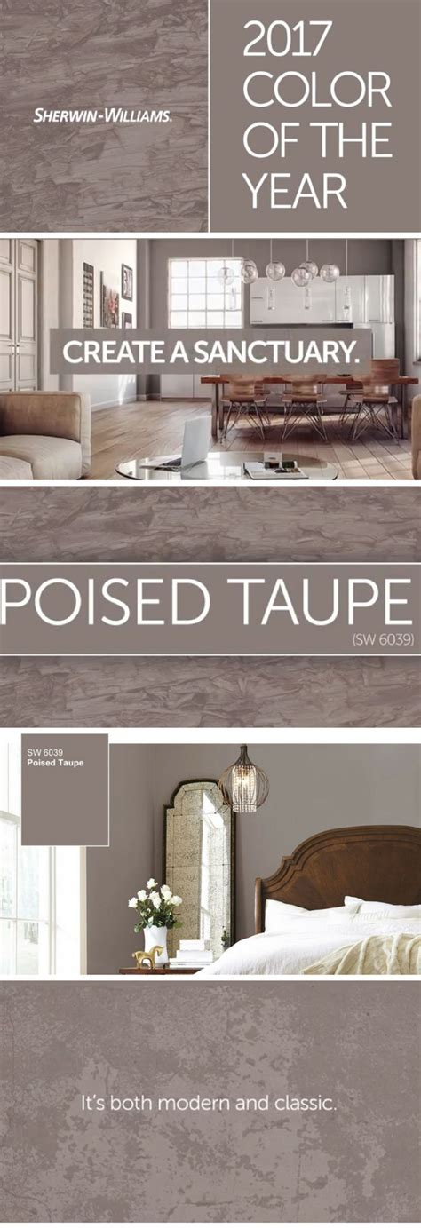 sherwin williams paint of the year the 25 best sherwin williams poised taupe ideas on