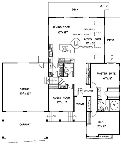Impressive Small House Plans With Garage 7 Two Bedroom House Plans With Garage