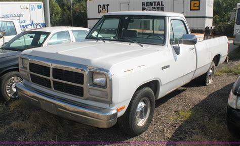 small engine maintenance and repair 1992 dodge ram 50 transmission control 1992 dodge ram d150 pickup truck item aj9307 sold octob