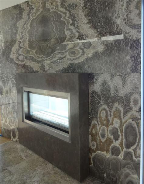 laguna residence venetian plaster fireplace done by