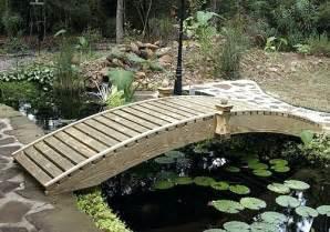 backyard bridge designs garden bridge plans backyard bridge designs