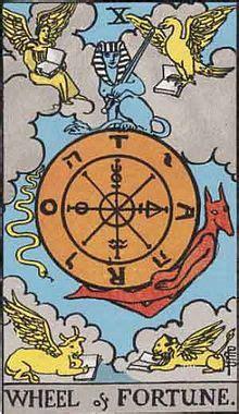 Tarot 10 Wheel Of Fortune 運命の輪