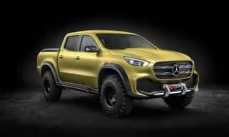 mercedes x class truck cool material