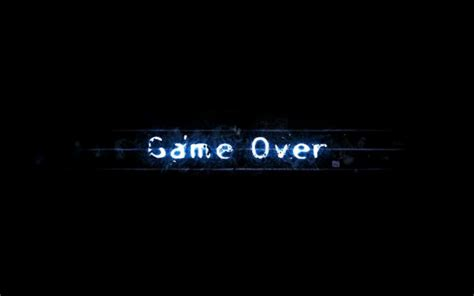 wallpaper game over game over 4k wallpaper hd wallpapers