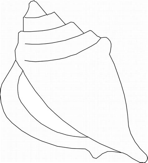 queen conch coloring page coloring statue coloring pages