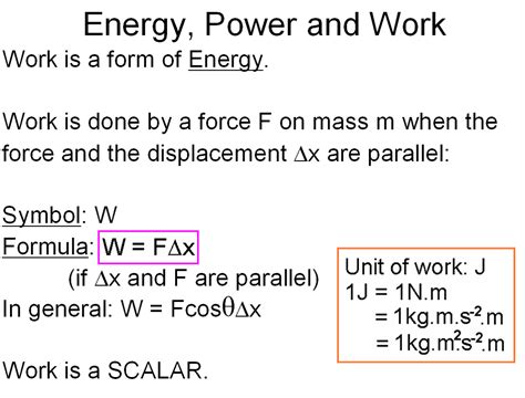 Work Power And Energy Problems Work Energy And Power Physical Sciences 1 0