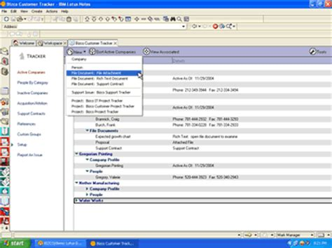 crm lotus notes web based crm software leverage ms outlook or lotus