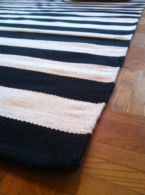 teppich weiß rosa teppich gestreift 00015920171009 blomap
