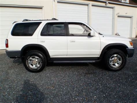 1997 Toyota 4runner Sr5 Sell Used 1997 Toyota 4runner Sr5 3 4l V6 Stick