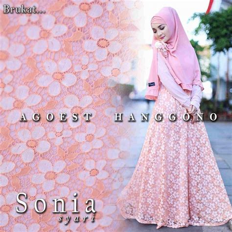 Mirabel Syari Ori By Agoest Hanggono hatma fashion gamis syari by agoest hanggono