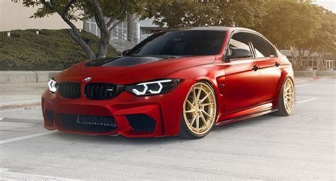 Gold Bmw Bmw M3 Tries To Look Special With Gold Wheels